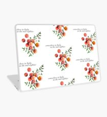 Call Me By Your Name - Inscription Laptop Skin