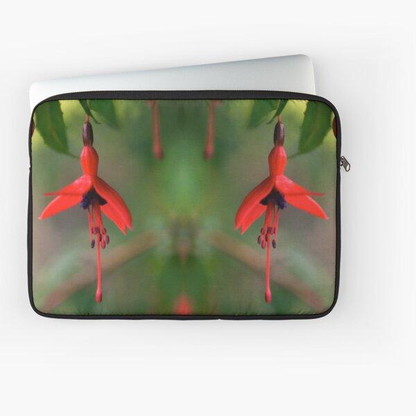 Single Wild Fuchsia Flower, Loch Na Fooey Laptop Sleeve