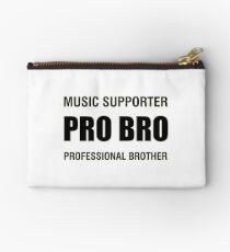 Pro Bro Black Studio Pouch