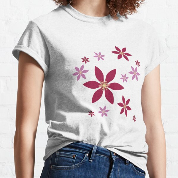 Clematis: Flowers Classic T-Shirt