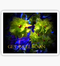 Get Well Soon  Sticker