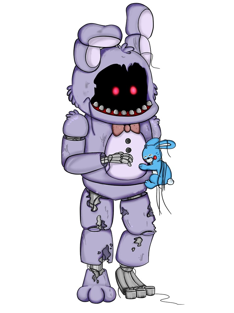 withered bonnie by aggablazey redbubble