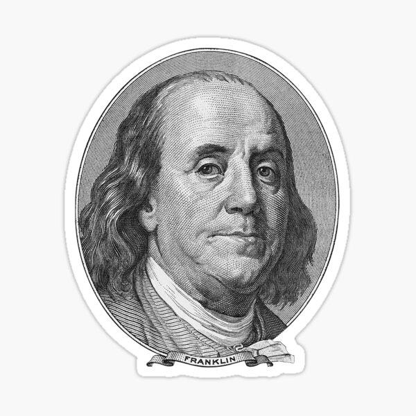 Benjamin Franklin Sticker