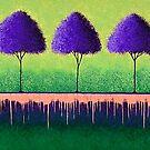 Purple Sentinels by Lisafrancesjudd
