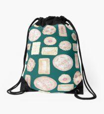 biscuit barrel Drawstring Bag