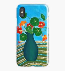 My Nans Nasturtiums iPhone Case