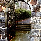 A Gate in the Winterthur Gardens by SummerJade