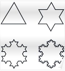 Koch Snowflake - Sequence Poster