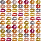 Stylish Colorful Lips by Nhan Ngo