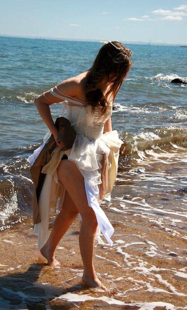 Beach Bride 3 by HeidiD