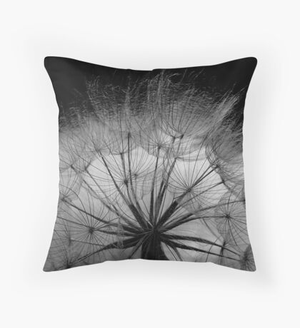 Poser Weed Throw Pillow