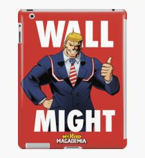 Wall Might - My Hero MAGAdemia iPad Case/Skin