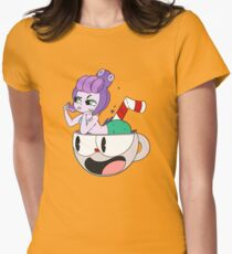 Cuphead Women's Fitted T-Shirt