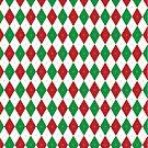 Christmas Argyle II by Joanne Rawson