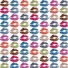 Stylish Colorful Lips #5 by Nhan Ngo
