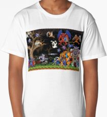 Ghouls 'n ghosts characters Long T-Shirt