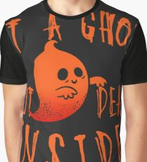 Ghost Halloween Graphic T-Shirt