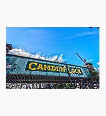 Camden Lock Photographic Print