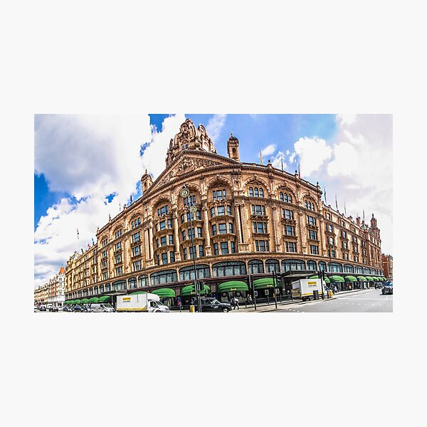 Harrods Wide Angle Photographic Print