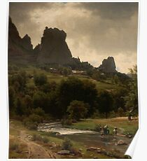 Summer Pastorale (View of Kallenfels) by Worthington Whittredge Poster