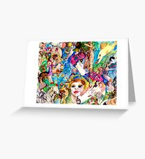 I live in Peace Greeting Card