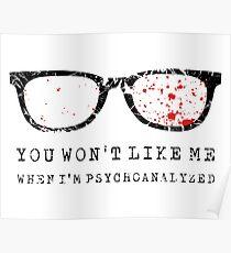 psychoanalyze mich Poster