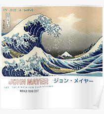 Póster John Mayer Summer Wave