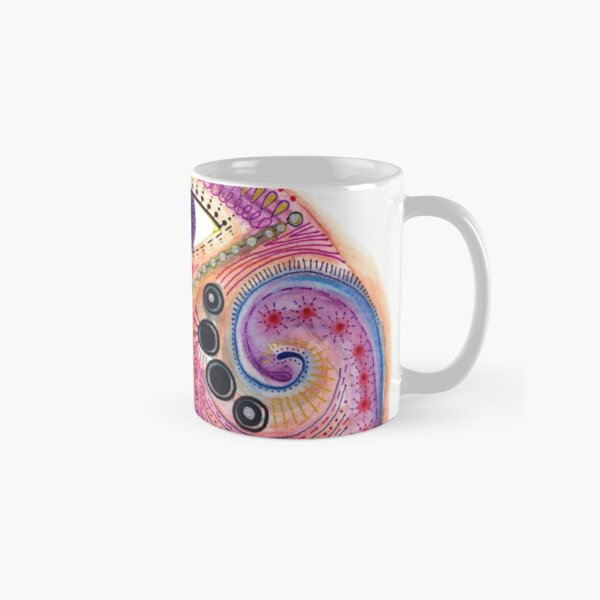the all seeing tranquility mask Classic Mug