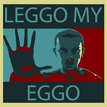 Leggo My Eggo by Chanash
