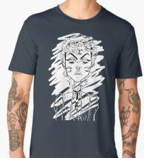 Owen in a Steampunk Blouse Men's Premium T-Shirt
