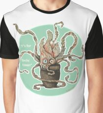 K is for Kimchi Kraken Graphic T-Shirt