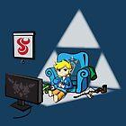Just Wind Wakin' Up (Legend of Zelda Wind Waker) by PixelStampede