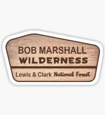 Bob Marshall Wilderness Sticker