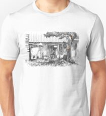 cats in the junk yard Unisex T-Shirt
