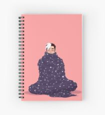 Shiro x Blankets Spiral Notebook