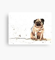 PUG LIFE #01 Canvas Print