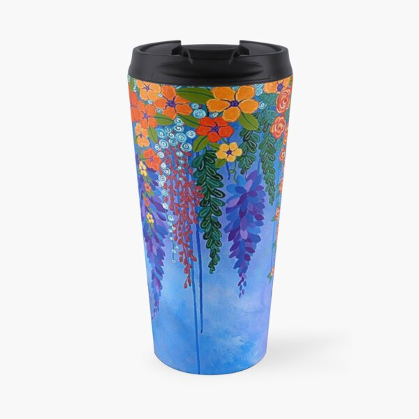 Eternal Flowers no. 1 Travel Mug