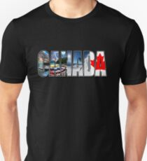 Canada Vacation Maple Leaf T Shirt T-Shirt