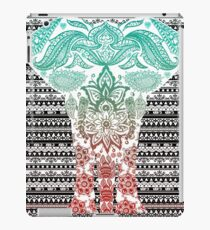 Classic Tribal Elephant Print iPad Case/Skin