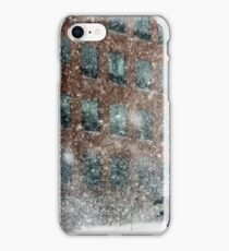 Downtown Pittsfield Snow Squall  iPhone Case/Skin