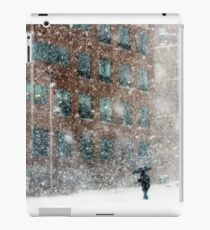 Downtown Pittsfield Snow Squall  iPad Case/Skin