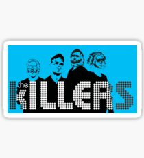 The Killers Band Merch Sticker
