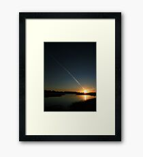 The Creation Of The World - Or The End Of History Framed Print