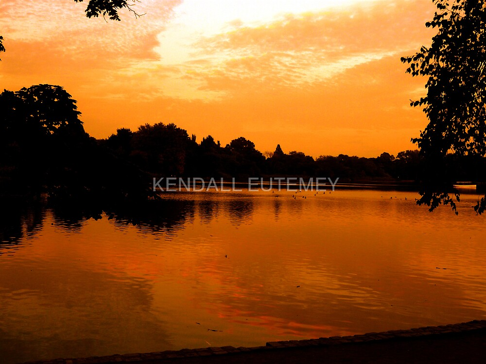 MEMORIES OF AUTUMN by KENDALL EUTEMEY