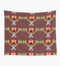 Angry Marines - Psycho Tenderizer Wall Tapestry