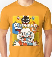 Cuphead Old-School Cover Art T-Shirt