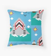 Shark Attack! Floor Pillow