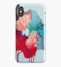 Floral Trees 1 iPhone Case/Skin