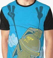 BORN TO KILL -  funny  army grenade Graphic T-Shirt