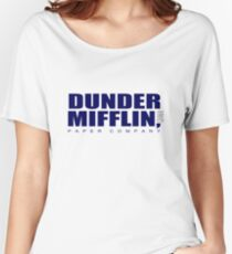 Dunder Mifflin Merchandise Women's Relaxed Fit T-Shirt